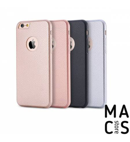 Чехол накладка пластик черный-золото Logo для iPhone7Plus