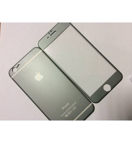 Glass Apple iPhone 6/6S комплект титаниум