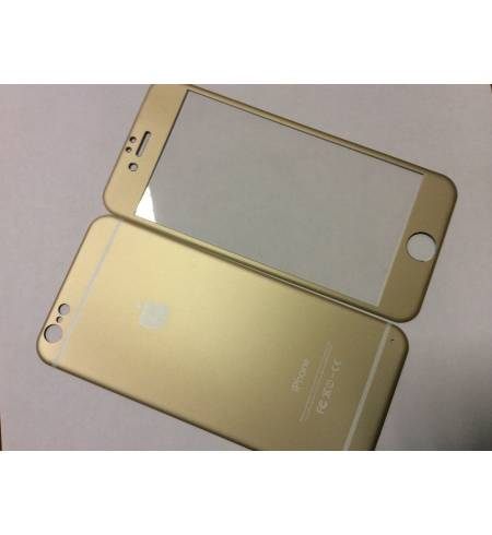 Glass Apple Gold iPhone 6/6S комплект титаниум