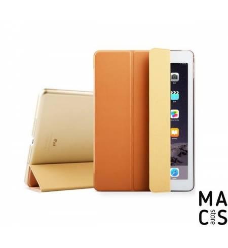 Чехол книжка эко-кожа/пластик золото smart case Zvrua для iPad mini