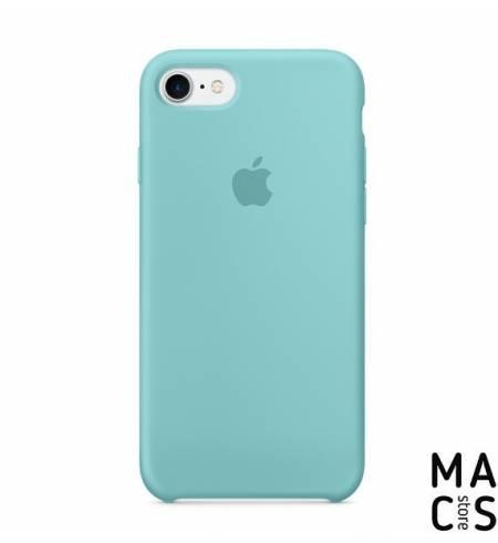 Чехол TPU небесный Apple Logo для iPhone7