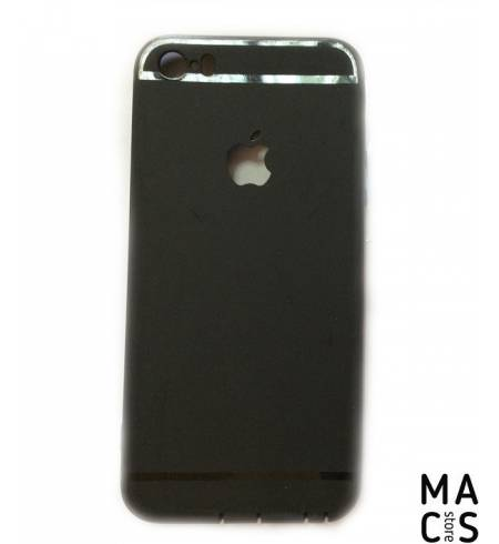 Чехол TPU черный Remax Jelly для iPhone 5/5S/5SE