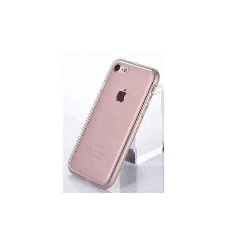 Чехол TPU-металл бампер золото для iPhone7 Plus