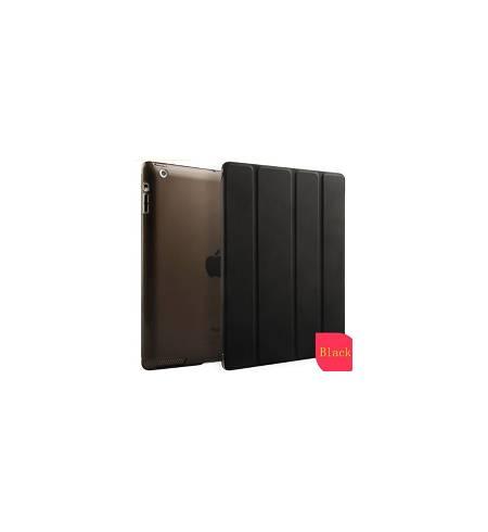 Чехол книжка черный Smart Cover для iPad 2/3/4