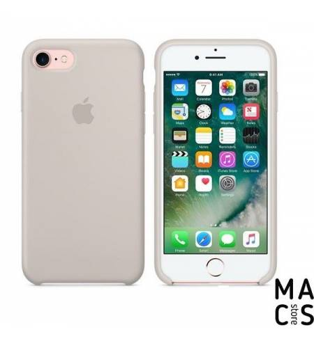 Оригинальный чехол Silicone Case Apple Stone (MMWR2ZM/A) для iPhone7 (серый)