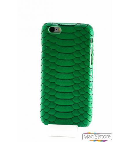 Чехол кожа силикон питон зеленый для iPhone7