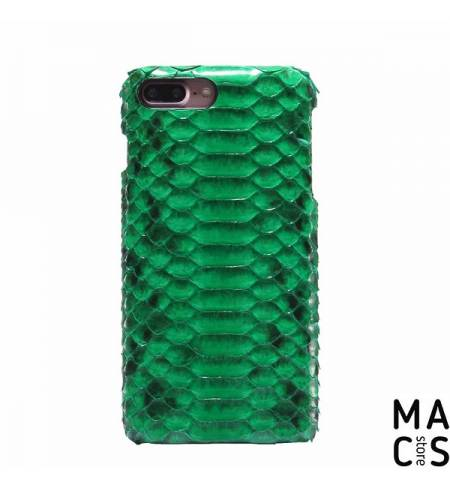 Чехол кожа силикон питон зеленый для iPhone 7Plus