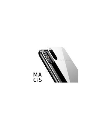 Защитное стекло Baseus на заднюю панель 0.3mm White для iPhone X