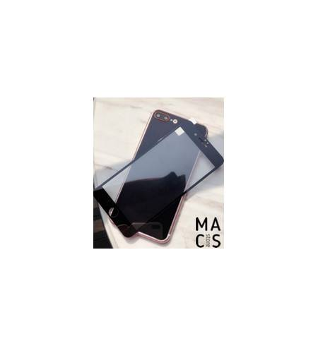 Защитное стекло зеркальное Black front/back для iPhone8Plus