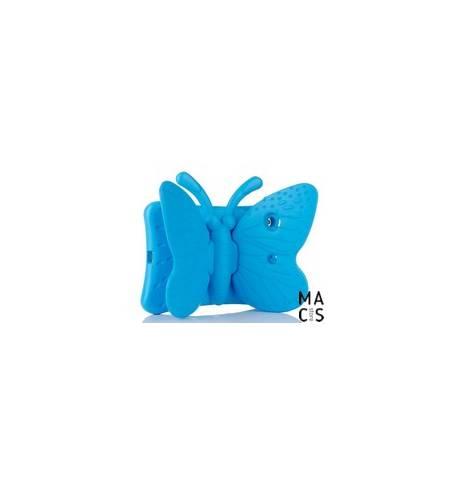 Чехол TPU голубой Бабочка iPad mini3