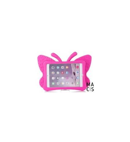 Чехол TPU розовый Бабочка iPad mini3