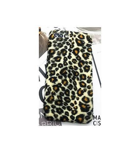 Чехол черно-белый леопард для iPhone8Plus