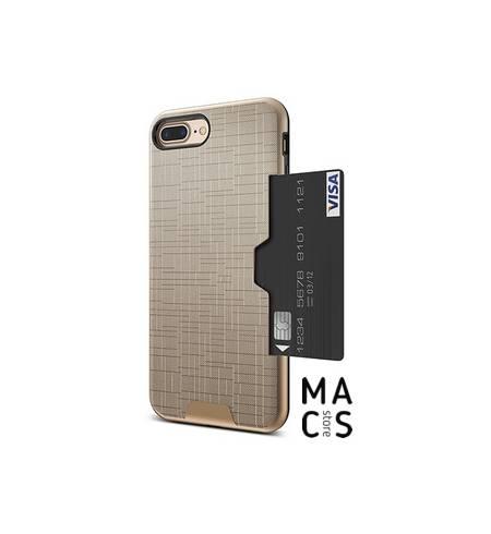 Чехол TPU пластик армированый золотой для iPhone Xs Max