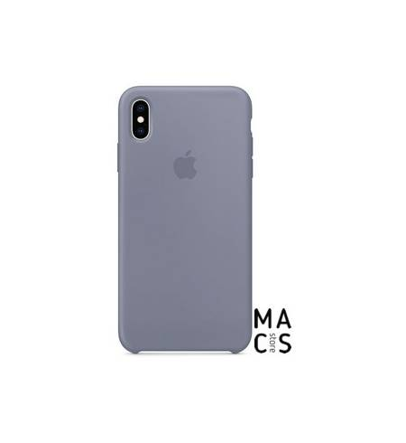 Чехол TPU лавандовый серый Apple Copy для iPhone XR