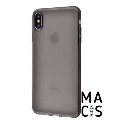 Чехол TPU прозрачный черный Baseus для iPhone XS Max