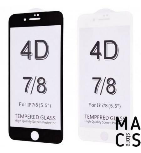 Защитное стекло 3D White для iPhone8Plus