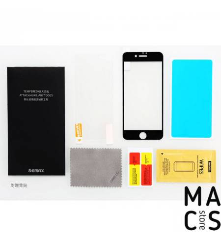Защитное стекло Remax Perfect Series 0.3mm Black для iPhone7