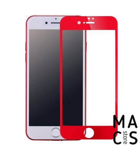 Защитная пленка Стекло 4DRed для iPhone 7