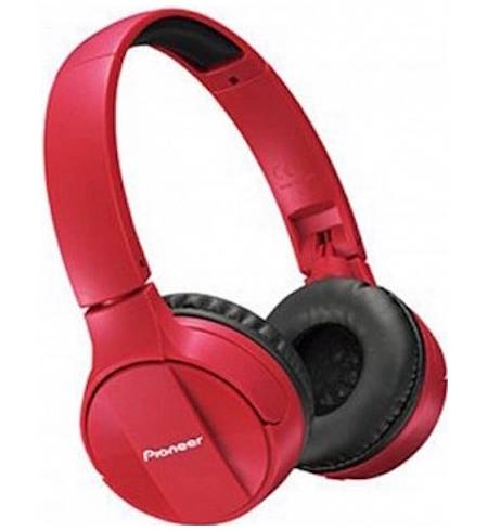 Pioneer SE-MJ553BT Bluetooth 4.0 NFC Red