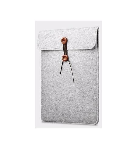 Сумка-чехол войлок светло-серый для iPad Pro12.9
