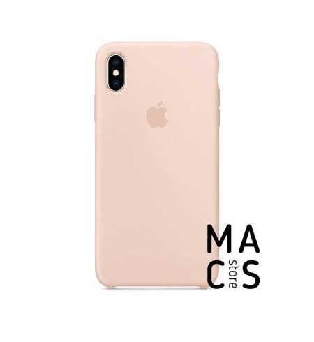 Чехол TPU розовый песок Apple Logo для iPhone Xs