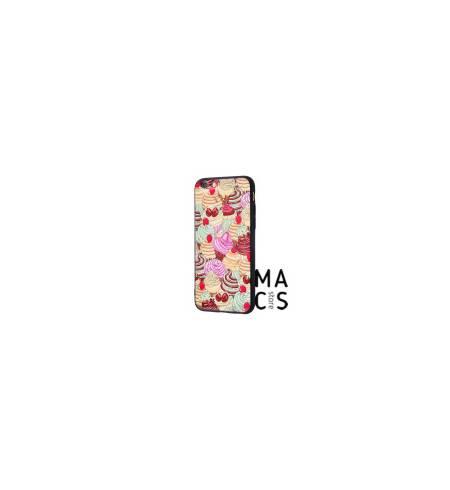 Чехол TPU Confetti Fashion пирожные для iPhone7/8