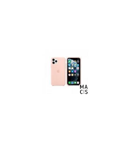 Чехол TPU розовый песок Apple Logo для iPhone 11Pro