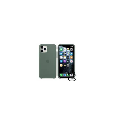 Чехол TPU сосновый лес Apple Logo для iPhone 11Pro