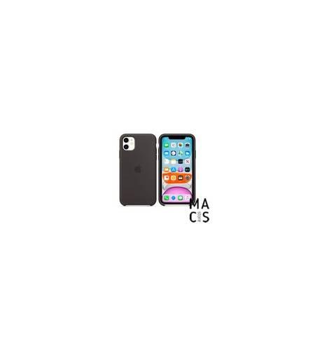 Чехол TPU чёрный Apple Logo для iPhone 11