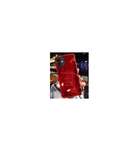Чехол TPU градиент красный для iPhone 11