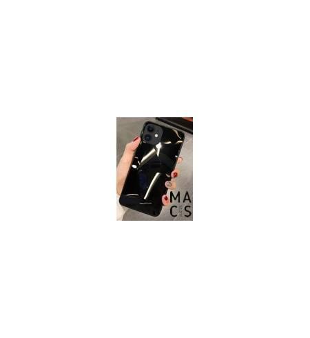 Чехол TPU градиент черный для iPhone 11