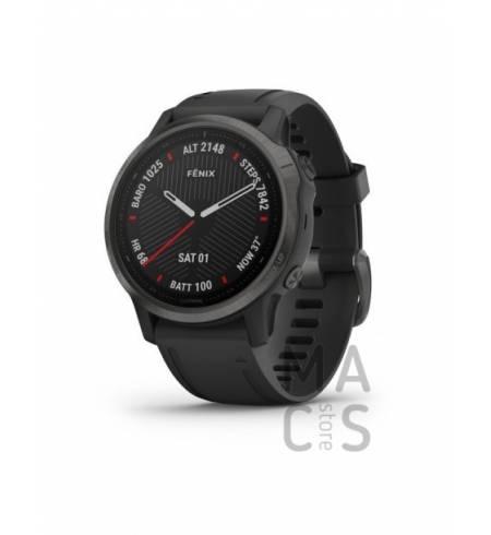 Garmin fenix 6S SAPPHIRE - Carbon Gray DLC with Black Band