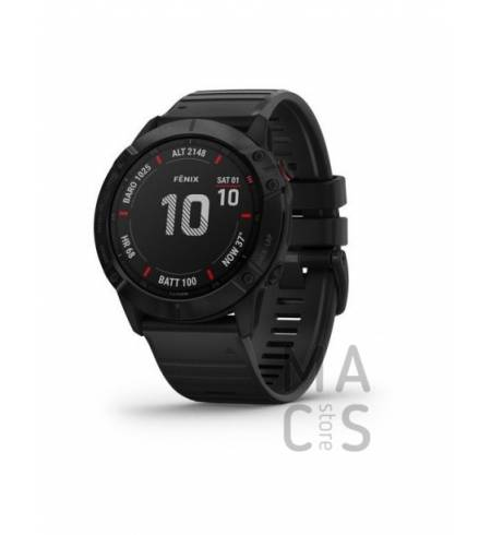 Garmin fenix 6X PRO - Black with Black Band