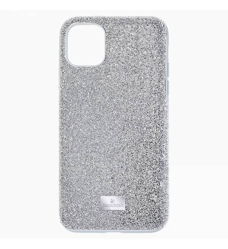 Чехол Swarovski серебро кристалл для iPhone 11Pro Max