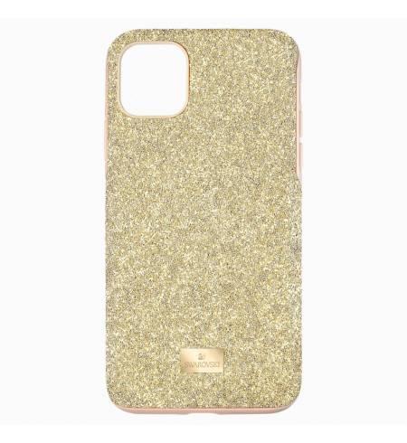 Чехол Swarovski оттенок золота для iPhone11Pro