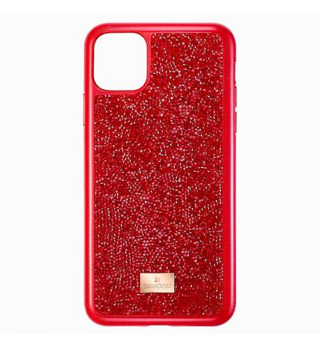 Чехол Swarovski GLAM ROCK красный кристалл для iPhone 11 Pro