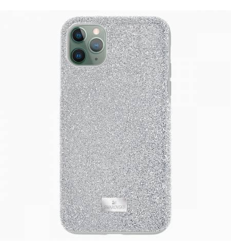 Чехол Swarovski серебро кристалл для iPhone 11 Pro