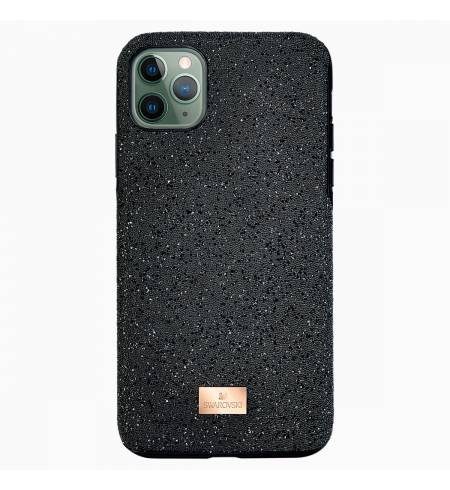 Чехол Swarovski чёрный кристалл для iPhone11Pro