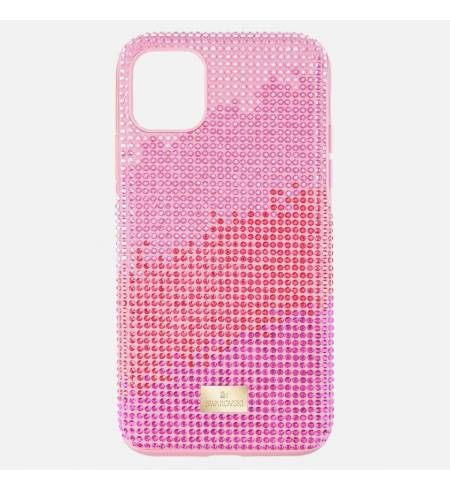 Чехол Swarovski High Love розовый кристалл для iPhone 11 Pro Max