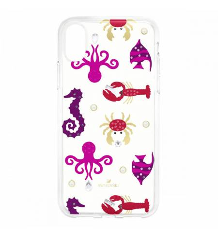 Чехол Swarovski Sea Life морская жизнь для iPhone XS Max