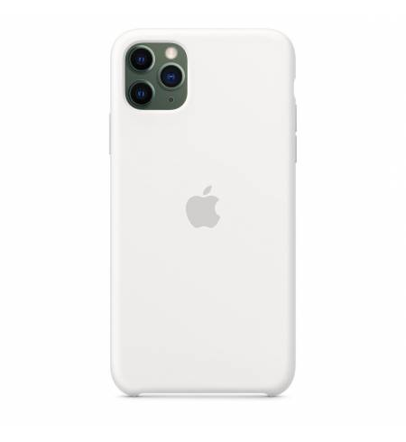 Чехол Apple Silicone Case (White) MWYX2ZM/A для iPhone 11 Pro Max