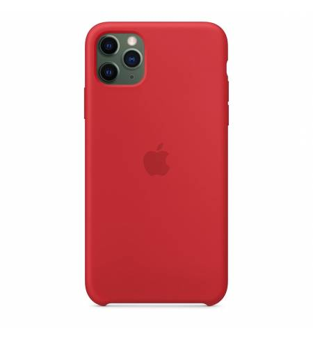 Чехол Apple Silicone Case - (PRODUCT) Red MWYV2ZM/A для iPhone 11 Pro Max