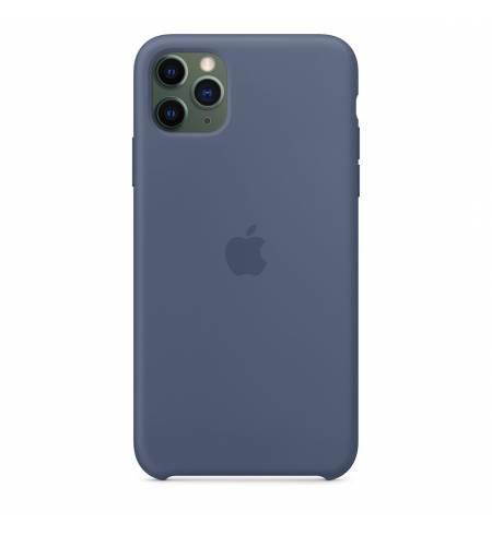 Чехол Apple Silicone Case (Alaskan Blue) MX032ZM/A для iPhone 11 Pro Max