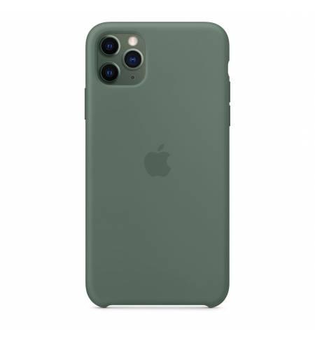 Силиконовый чехол Apple Silicone Case Pine Green (MX012) для iPhone 11 Pro Max