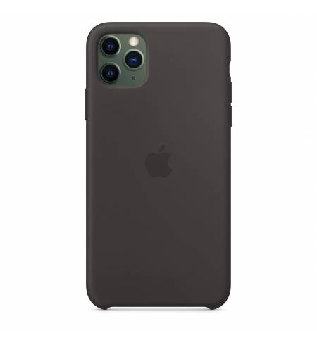 Чехол Apple Silicone Case (Black) MX002ZM/A для iPhone 11 Pro Max