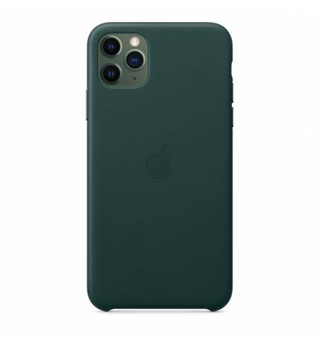 Чехол Apple Leather Case (Forest Green) MX0C2ZM/A для iPhone 11 Pro Max