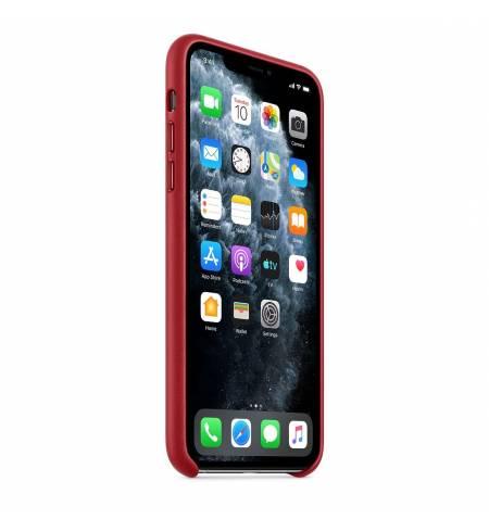 Кожаный чехол Apple Leather Case (PRODUCT) Red (MWYF2) для iPhone 11 Pro