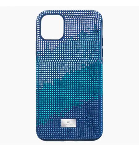 Чехол Swarovski CRYSTALGRAM Blue для iPhone 11Pro Max
