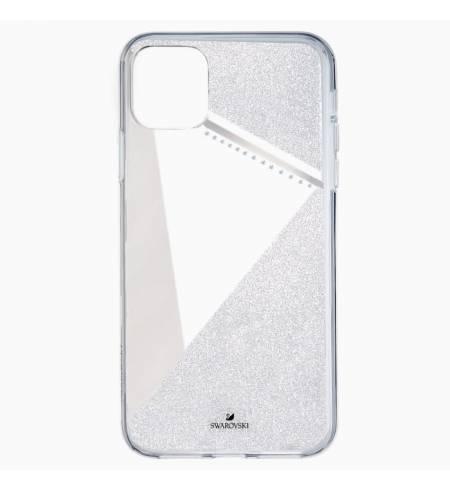 Чехол Swarovski SUBTLE серебро для iPhone 11Pro Max