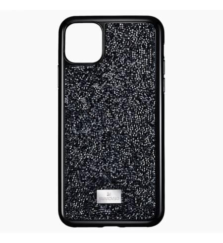 Чехол Swarovski чёрный кристалл для iPhone 11Pro